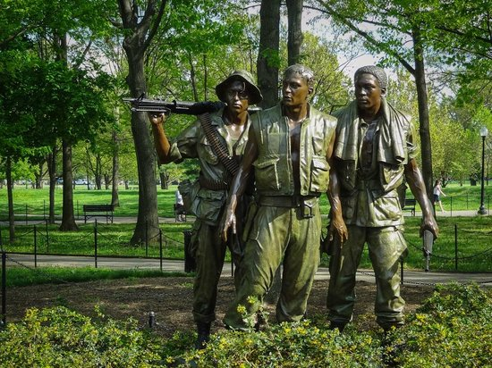 Memorial de Veteranos de Vietnam: The Three Soldiers