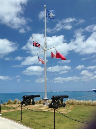 National Museum of Bermuda: The Commissioner's House Coat of Flags