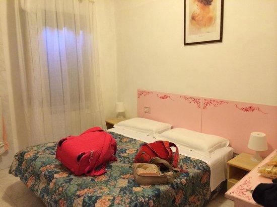 Hotel Adua: O quarto em prédio anexo