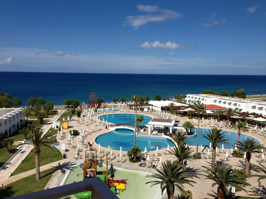 Louis Creta Princess Beach Hotel: view from the room