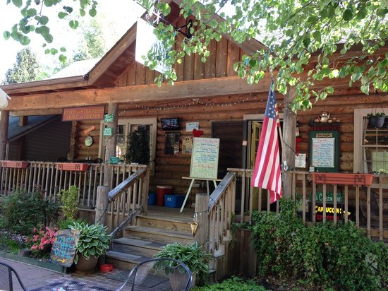 The Cabin Cafe: The Cafe From Our Outside Table