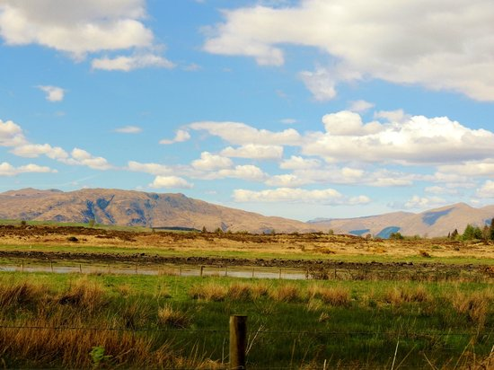 Isle of Eriska Hotel, Spa & Island : Beautiful mountains everywhere