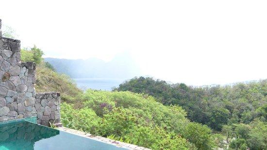 Jade Mountain Resort: Open concept view