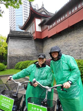China Cycle Tours: Trying to Stay Dry