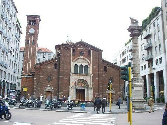 Chiesa di San Babila : estilo romanico da chiesa de san babila