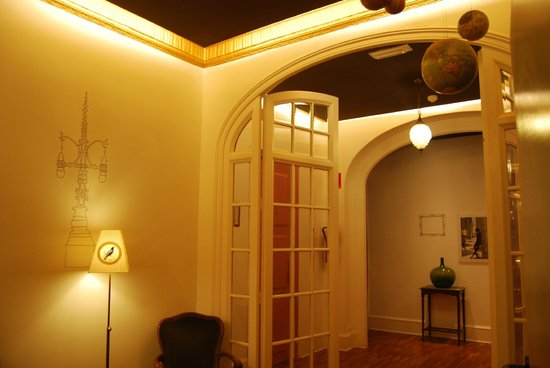 Casa Gracia: corridoio camere