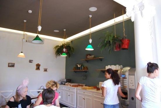 Casa Gracia: sala colazione