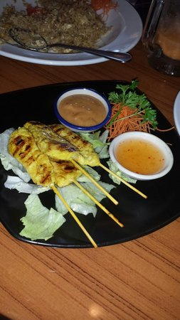 Spice Thai and Sushi Restaurant: Yummy Chicken Satay