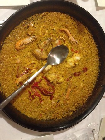 La Taberna Iberica: Paella