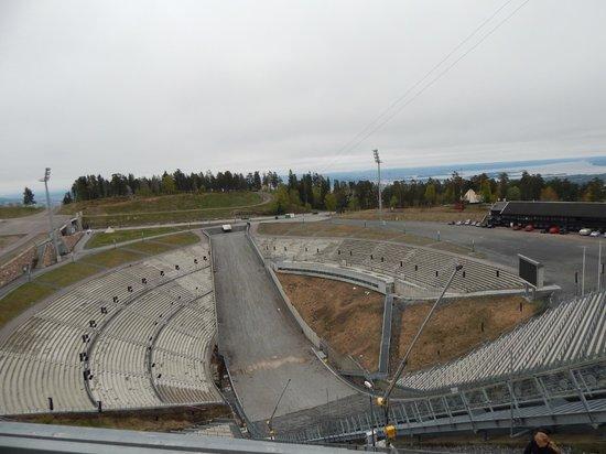 Musée du ski de Holmenkollbakken : вид сверху