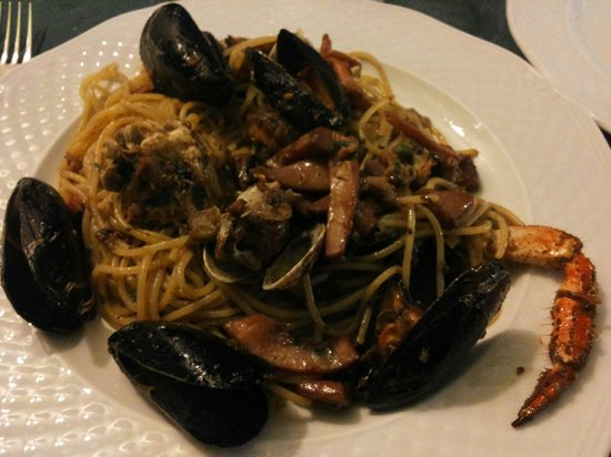 Mickey Mouse Tipical Restaurant  & Pizza: Spaghetti alla marinara