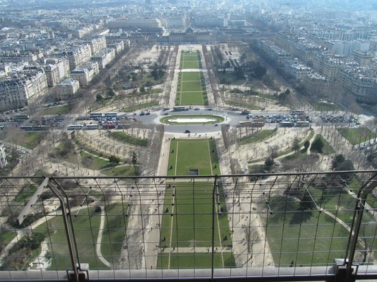 Tour Eiffel : The sights from the observation deck