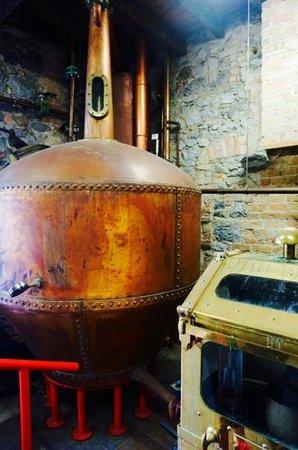 Old Kilbeggan Distillery: new distilling area