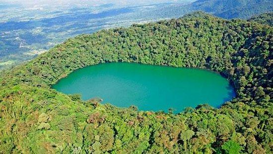 Cerro Chato Eco Lodge: Cerro Chato Lake view