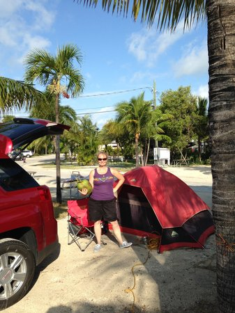 Boyd's Key West Campground: Welcome to paradise