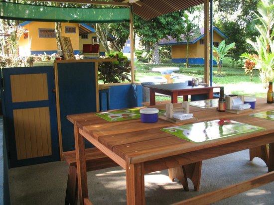 Cerro Chato Eco Lodge: Breakfast place