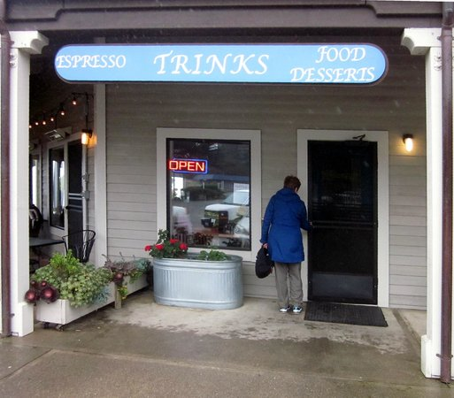 Trinks: Trink's Cafe,Gualala, California