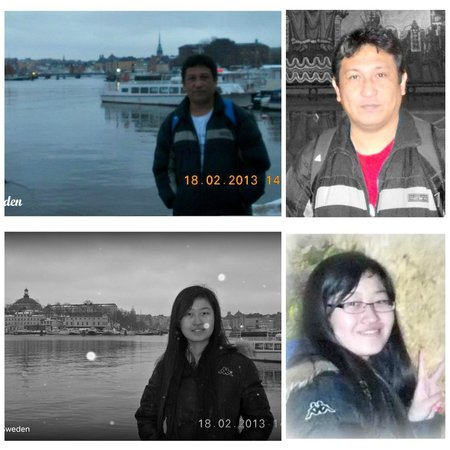Vanadis Hotell & Bad: My Chinese fellow Erasmus Mundus and mathematician friend, Han Jiaxu and I traveled to Stockholm