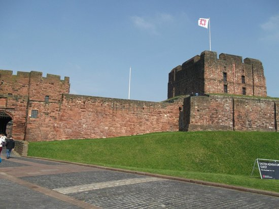 Front View of Carlisle Castle