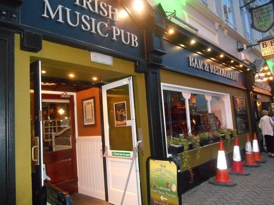 Danny Mann Pub : Entrée du restaurant