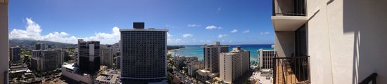 Holiday Inn Resort Waikiki Beachcomber: View from our room