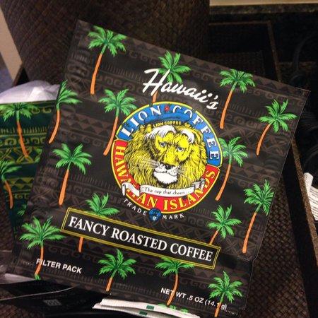 Holiday Inn Resort Waikiki Beachcomber: Coffee supplied