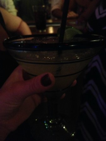 Rocco's Tacos & Tequila Bar - Fort Lauderdale: Jalapeno margarita!  Yum!