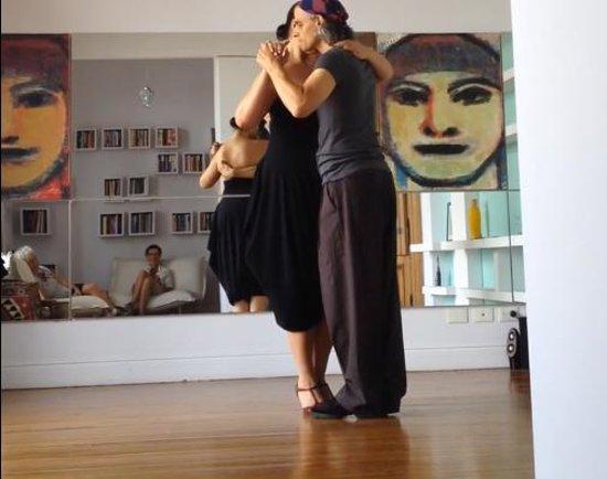 Alejandro Puerta Tango Teachings: Taken in Alejandro's beautiful studio in San Telmo. It was such a pleasure to learn there each d