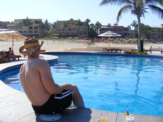 Casa del Mar Golf Resort & Spa: View from Pool