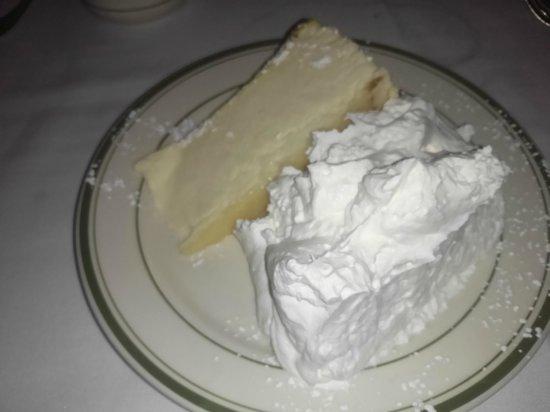 Wolfgang's Steakhouse: ニューヨークチーズケーキ
