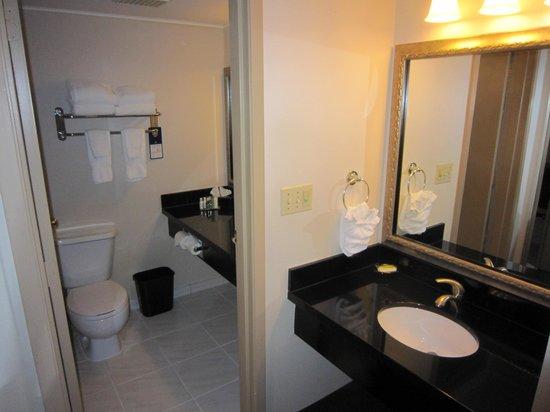 Best Western Plus Coquitlam Inn Convention Centre: bathroom