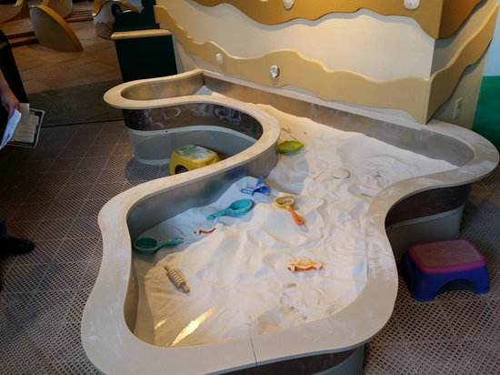 Port Discovery Children's Museum: Sand Box
