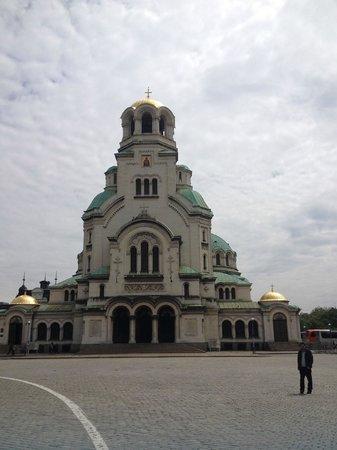 Alexander-Newski-Gedächtniskirche: Front view