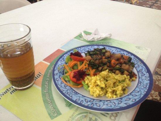 Savia Vegana: Set lunch (don't remember the name:)