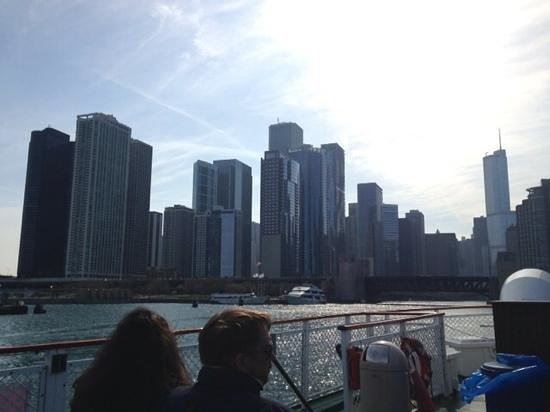 Chicago's First Lady Cruises: great trip on a cold and windy day