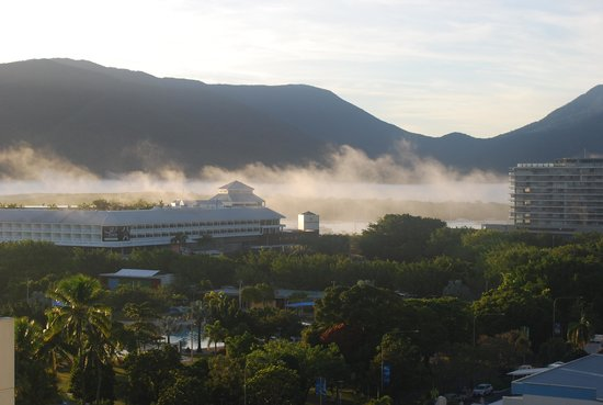 Mantra Trilogy: Morning Fog over the Cairns Pier