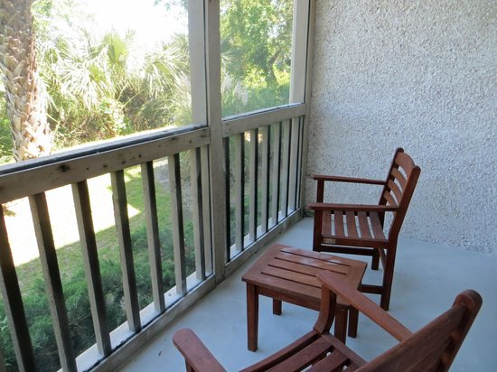 Sea Palms Resort & Conference Center: My Screened Porch