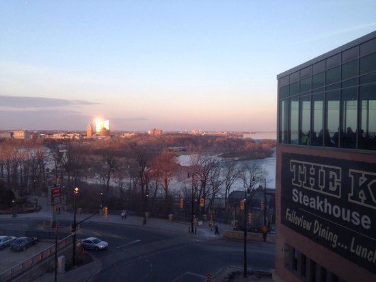 The Keg Steakhouse + Bar Fallsview Embassy Suites: Our view