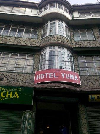Hotel Yuma: Entrance