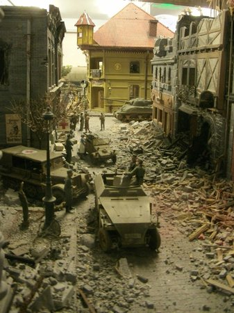 Miniature World: A war diorama