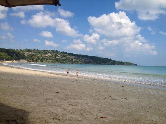 Jimbaran Bay Beach Residence : Beach