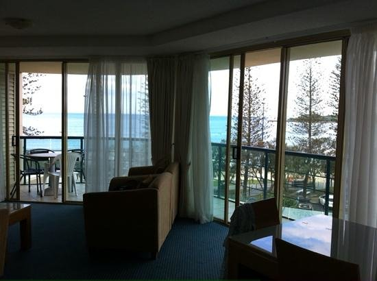 Landmark Resort: Lounge corner view.