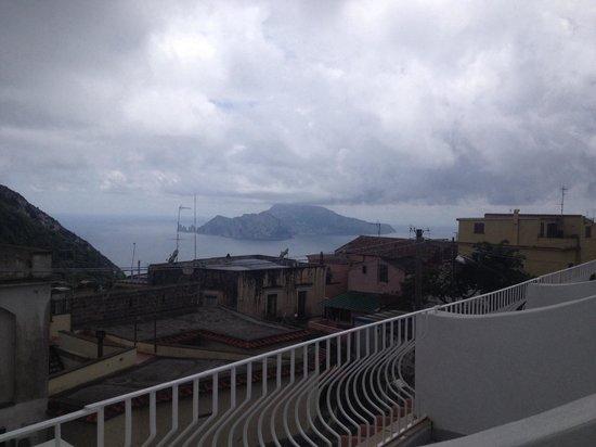 Hotel Caruso: La magnifica vista dalla nostra stanza