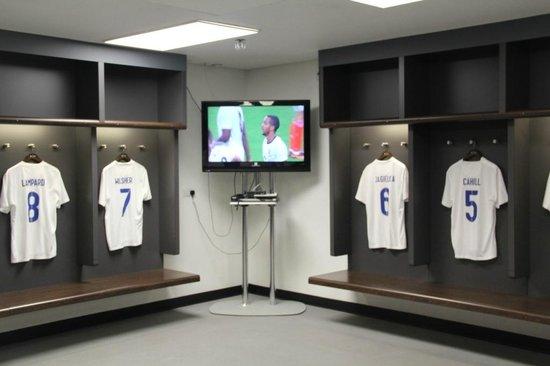 Wembley Stadium: Vestiário