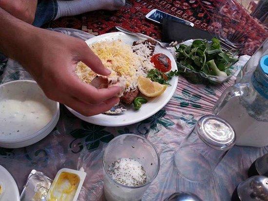Bastani: a delicious lunch!