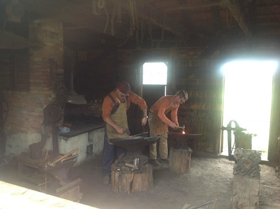 Batsto Village: Blacksmith Demonstration