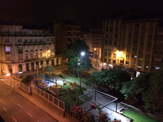 Hotel Compostela: View from the room