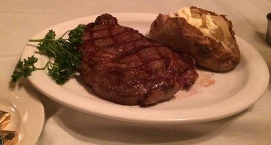 Coach & Four Restaurant: Delmonico Steak