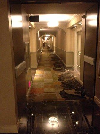 Venetian Resort Hotel Casino : Corridor from hell!!