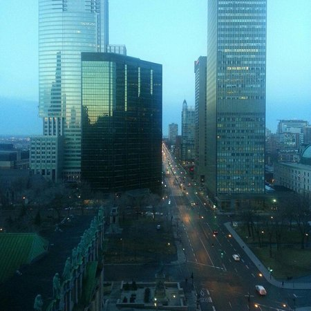Fairmont The Queen Elizabeth: View from room 1440